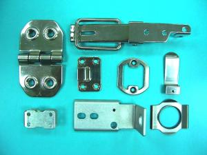 Customs metal stamping for door hinges